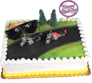 Hog Heaven (Motorcycles) Cake Kit