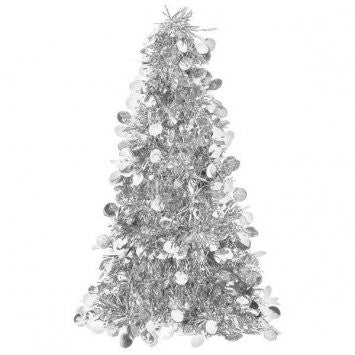 Large Silver Tree Centerpiece