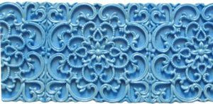 Filigree Border Silicone Mold - 1 Piece
