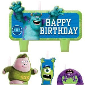 Monsters University Candle Set
