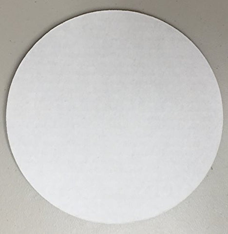 "Quick Pick Up 8"" Round Corrugated Cake Board Single"
