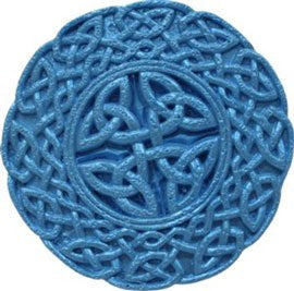 Celtic Medallion #1 Silicone Mold - 1 Piece