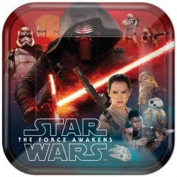 Star Wars The Force Awakens Lunch Plates