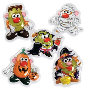 MR POTATO HEAD 5 PC HALLOWEEN POP TOPS SET / 12 sets