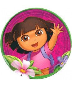 Dora's Flower Adventure Lunch Plates