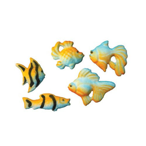 Aquarium Fish Dec-Ons? Sugar Decorations (43680)