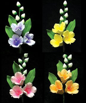 Bell Flower Spray Assortment 8 Count
