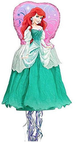 Disney's Little Mermaid Ariel 3d Pull-string Pinata