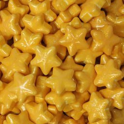 Gold Star Shape Candy - 2 lb