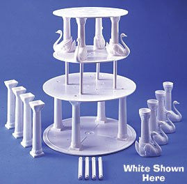 "Swan Pillar Sets- 8"" Rd-Ultra"