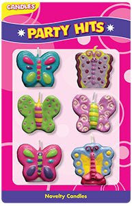 Butterfly Assortment Candle Set