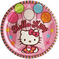 Hello Kitty Lunch Plates