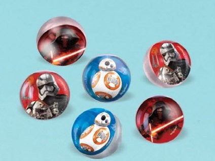 Star Wars The Force Awakens Bounce Ball Favors