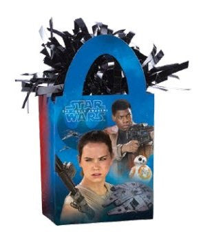 Star Wars The Force Awakens Mini Tote Balloon Weight