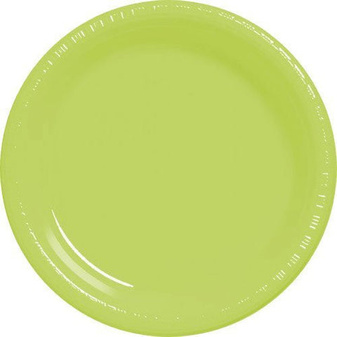 Amscan Big Party Pack Kiwi Plastic Dessert Plates