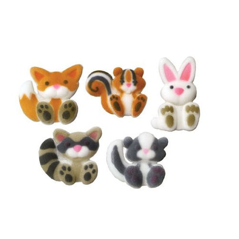 Woodland Animals Asst Dec-Ons? Sugar Decorations (45812)