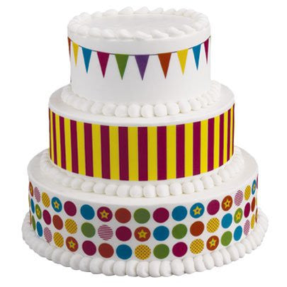 Big Top Variety Designer Prints Edible Image? Designs