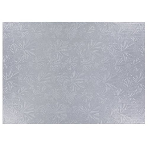 Cake Drum Silver Quarter Sheet each