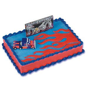 TRANSFORMERS MOVIE CAKE KIT (FIG & BANNER)
