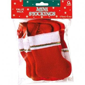 Felt Mini Stocking Value Pack