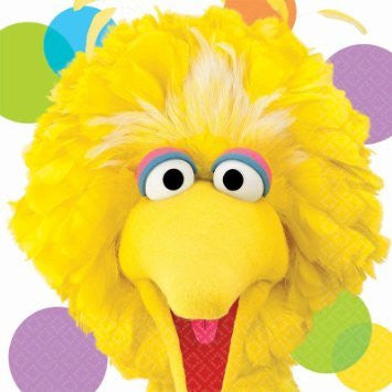 Big Bird Lunch Napkins