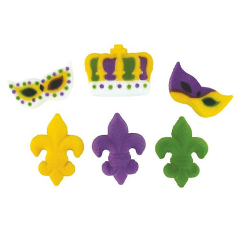 Mardi Gras Party Assortment Dec-Ons