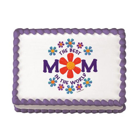 Best Mom In The World Edible Image? Designs