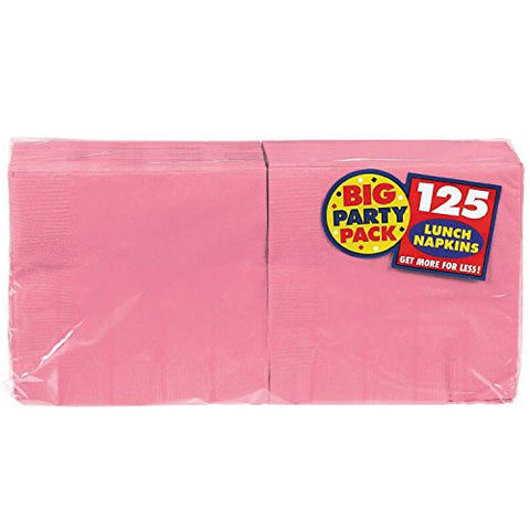 Amscan Big Party Pack New Pink Luncheon Napkins