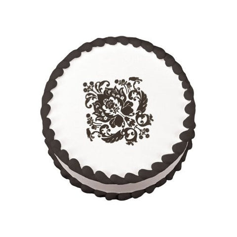 Damask Wedding Embellishments Edible Image? Designs