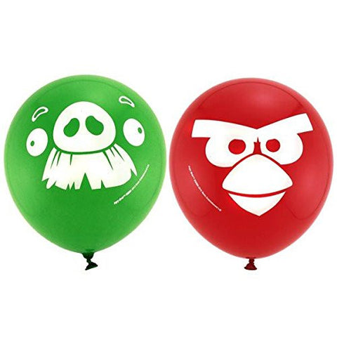 Angry Birds Latex Balloons 6 Pack