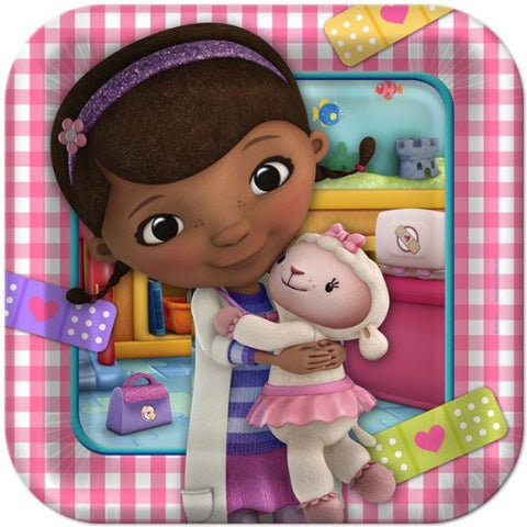 Doc McStuffins Lunch Plate