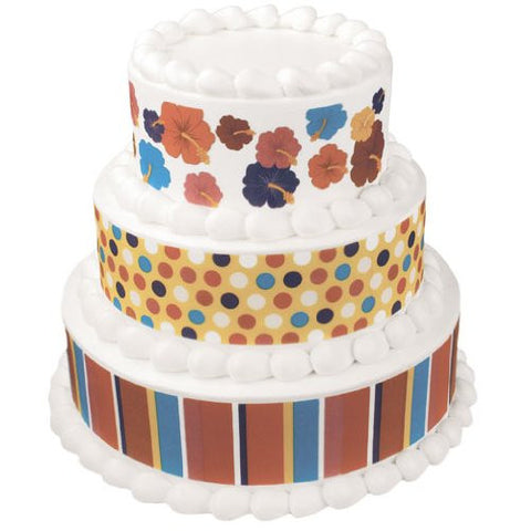 Bright Stripes, Dots, Flowers Edible Image? Designs