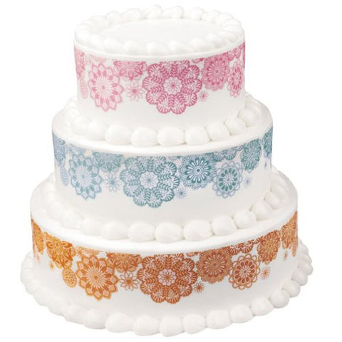 Doily Variety Designer Prints Edible Image? Designs