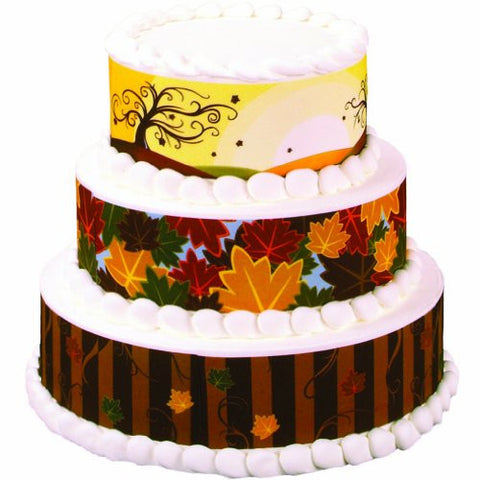 Autumn Leaves Variety Designer Prints Edible Image? Designs