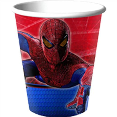 The Amazing Spiderman 9 oz Paper Cups