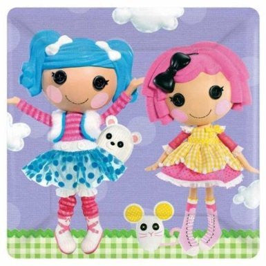 Lalaloopsy Lunch Plates
