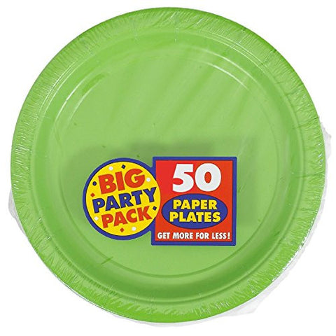 Amscan Big Party Pack Kiwi Paper Dessert Plates