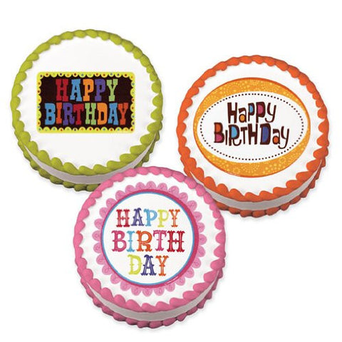 Birthday Party Variety Pack Edible Image? Designs