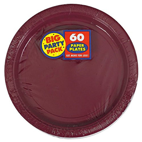 Amscan Big Party Pack Berry Paper Dessert Plates