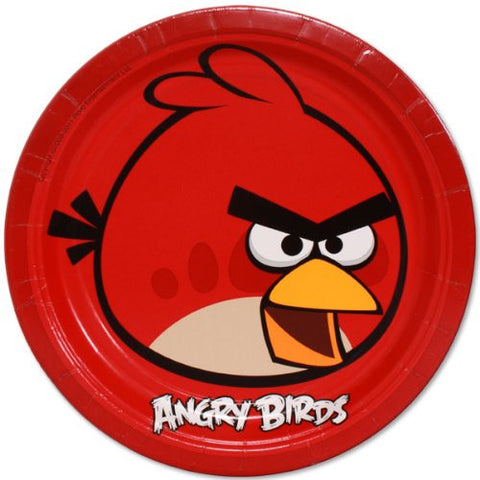 Angry Birds Lunch Plates