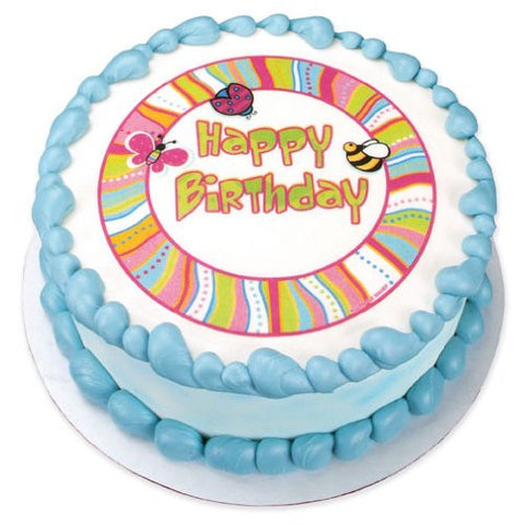 Cutie Pie Birthday Edible Image Designs
