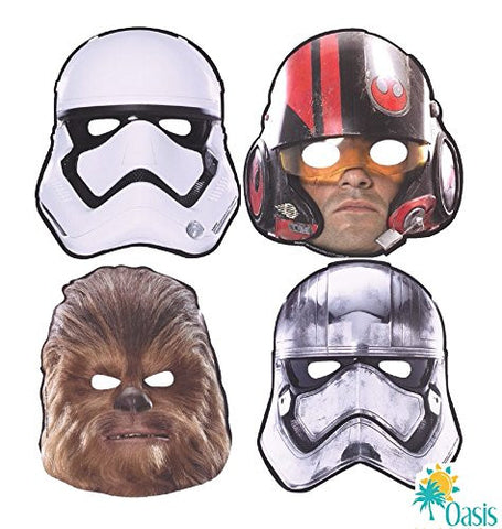 Star Wars The Force Awakens Paper Masks