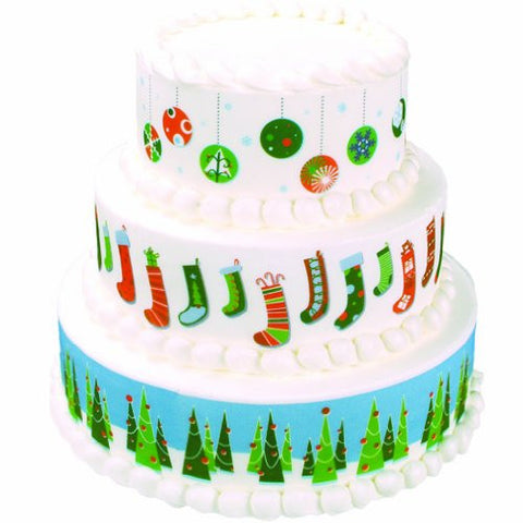 Christmas Variety Designer Prints Edible Image? Designs