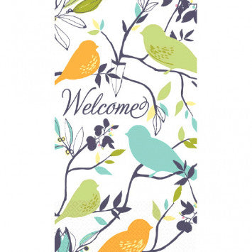 Welcome Birds ECO Guest Towels