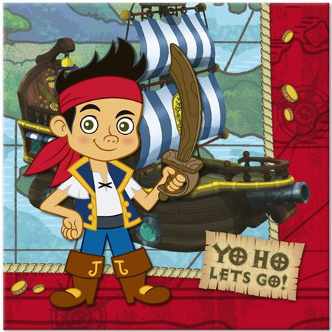 Jake & The Neverland Pirates Lunch Napkins