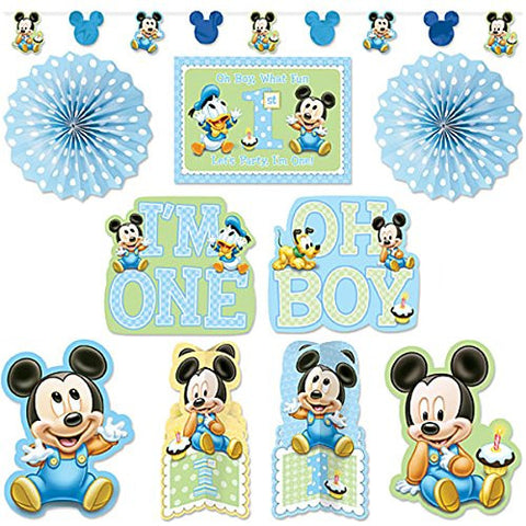Mickey 1st Birthday Decorating Kit