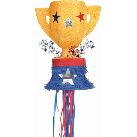 Trophy Pull String Pinata