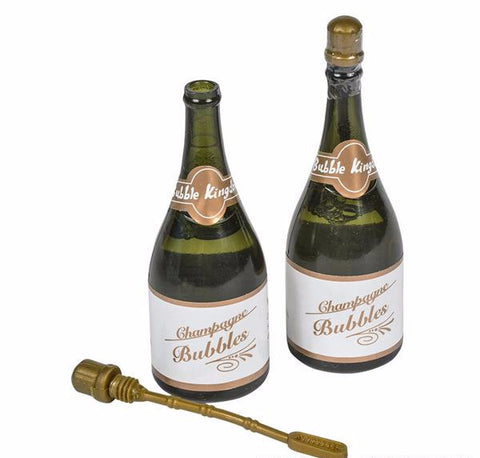 "3"" CHAMPAGNE BOTTLE BUBBLE - 12 COUNT"