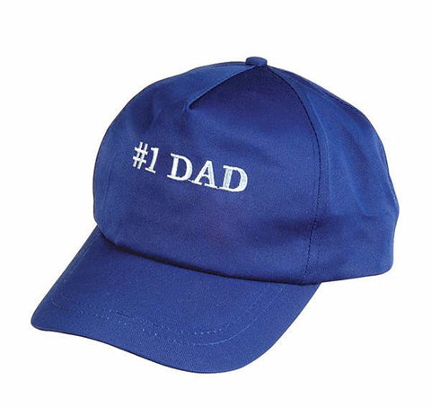 #1 DAD BASEBALL CAP - 1 PIECE