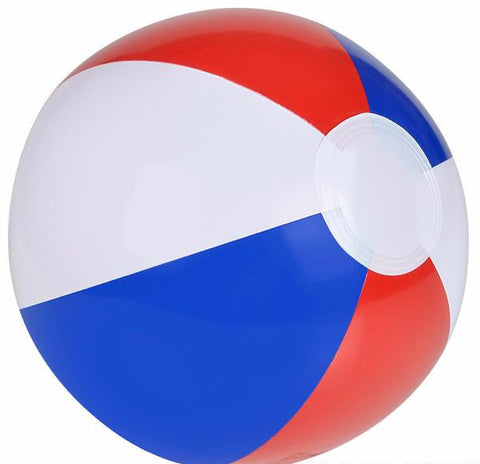"12"" PATRIOTIC BEACH BALL - 12 COUNT"